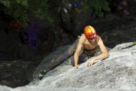 Lezenie na Súľovských skalách
