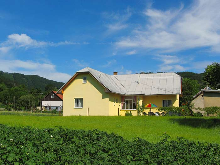 Accomodation for groups Sulov mountains holiday house Maria