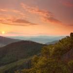 Zapad slnka Sulovske skaly