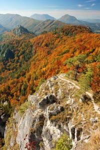 Štefánikova vyhliadka Súľovské skaly