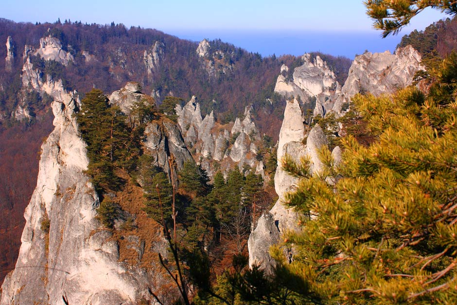 Sulovske skaly pod Rohacom