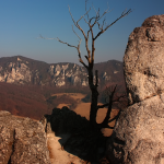 Sulovske skaly vyhlad z hradu