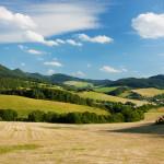 Súľovské vrchy leto