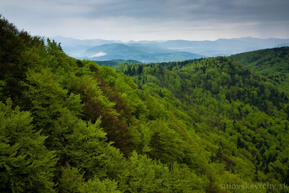 Súľovské vrchy apríl