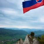 Slovenská vlajka na Žibride, Súľovské vrchy
