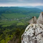 Výhľady zo Žibridu, obec Hradná