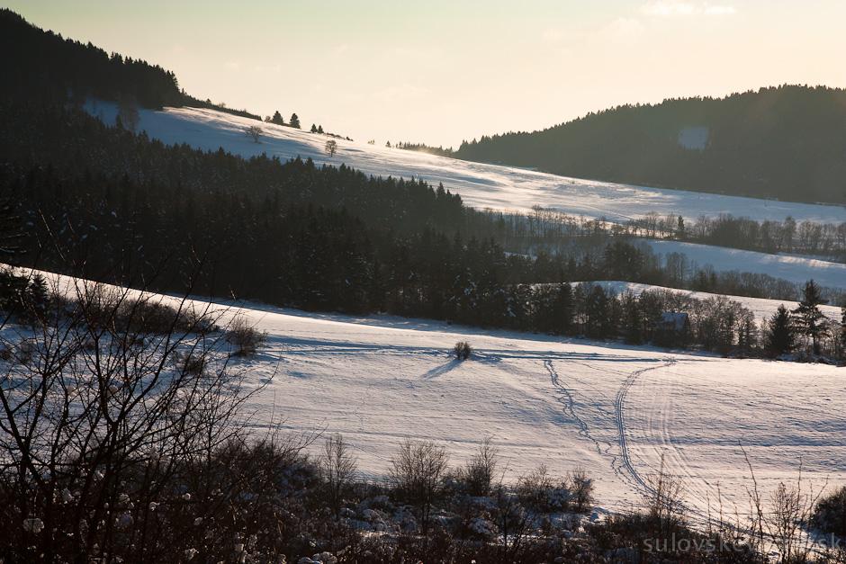 Bežkovanie v Súľovských vrchoch