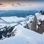 Zimné výhľady zo Žibridu